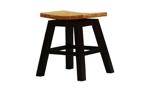 ORNAMENTAL  BAR STOOL  (BR 002 WV) - SEAT: 760(H) - CHOCOLATE