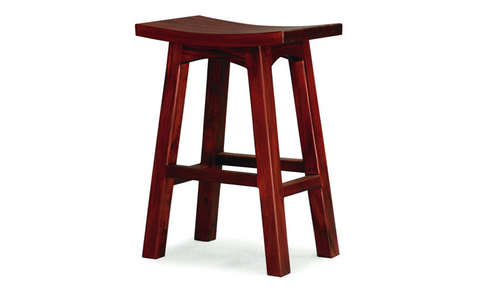 REGAL  WOODEN BAR STOOL (BR 077 WD) - SEAT: 770(H) - MAHOGANY