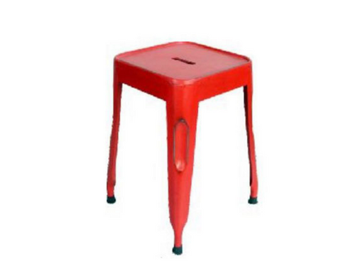 FRENCH INDUSTRIAL  STOOL ( VFI-036)  - ASSORTED COLOURS AVAILABLE.