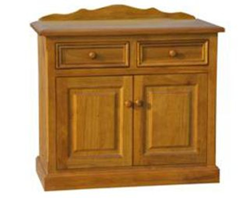 MUNDE  2 DOOR 2 DRAWER BUFFET - 860(H) X 1000(W) - (MODEL22-9-3-20-15-18-9-1) AVAILABLE IN CHESTNUT OR WALNUT