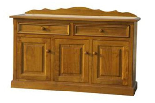 MUNDE  3 DOOR 2 DRAWER BUFFET - 860(H) X 1500(W) - (MODEL22-9-3-20-15-18-9-1) AVAILABLE IN CHESTNUT OR WALNUT