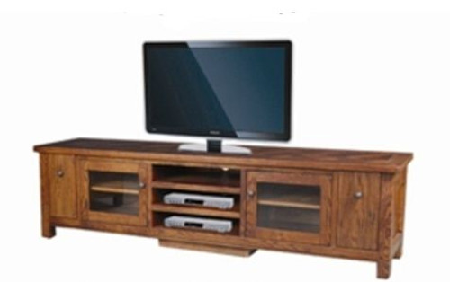 DUOLYN  AMERICAN OAK    LOWLINE TV  DVD ENTERTAINMENT UNIT - (MODEL16-1-18-1-13-15-21-914-20) -   (2200(W)  - AS PICTURED