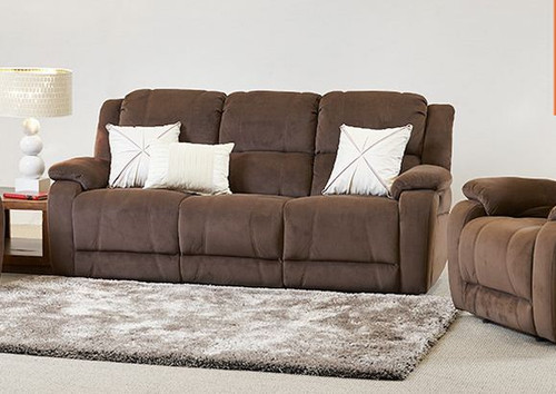 CLINTONE  3 SEATER  RECLINER ( P30005) - ASSORTED COLOURS
