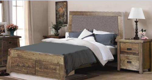 TARTIS  KING 3 PIECE BEDSIDE  BEDROOM SUITE  -  (MODEL-19-25-12-22-1-14)