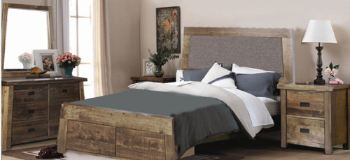 TARTIS  QUEEN 6 PIECE (THE LOT) BEDROOM SUITE - (MODEL-19-25-12-22-1-14)