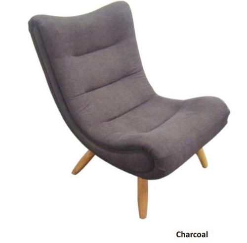 SMARTIE   (V-230)  FABRIC LEISURE CHAIR - CHARCOAL