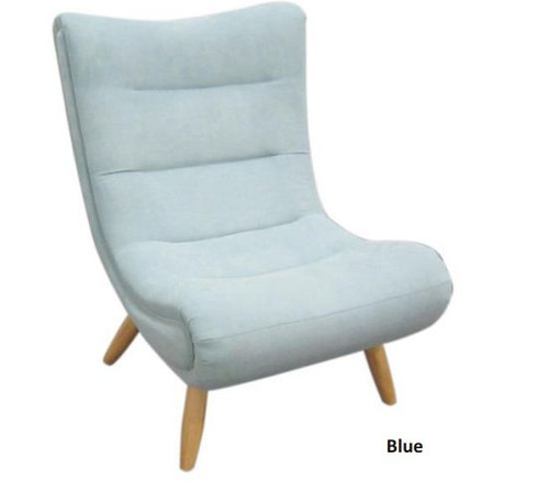 SMARTIE   (V-230)  FABRIC LEISURE CHAIR - BLUE