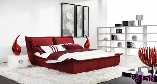 KING  GRACE FABRIC BED (B6158) - ASSORTED COLOURS