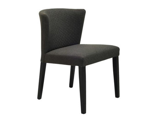 RHODA FABRIC DINING CHAIR (SET OF 2) -  MUD