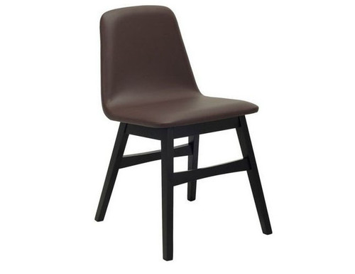 AVICE MODERN  DINING CHAIR (SET OF 2) -  MOCHA