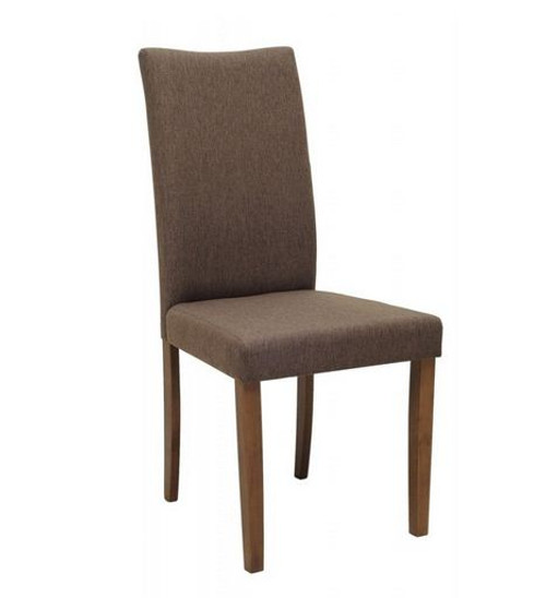 LENORE  MODERN FABRIC DINING CHAIR (SET OF 2)  -  SEAL