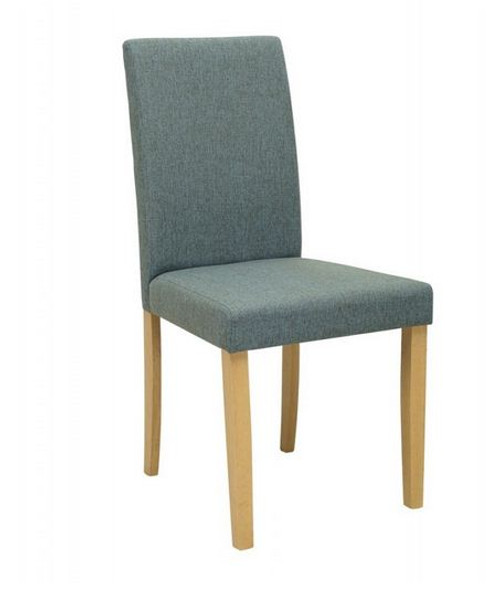 LENORE  MODERN FABRIC DINING CHAIR (SET OF 2)  -  WHALE
