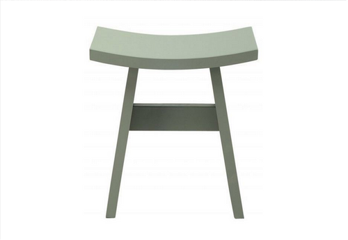 HAMO WOODEN STOOL - SEAT: 440(H) - GREY