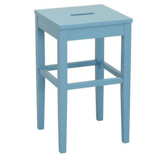 DAMA  COUNTER STOOL - SEAT: 600(H) - DUST BLUE