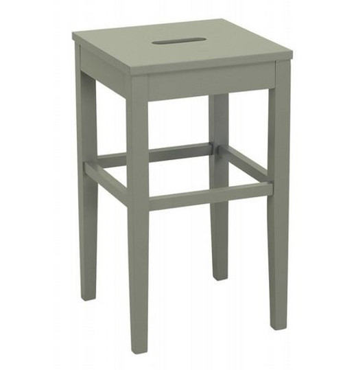 DAMA  COUNTER STOOL - SEAT: 600(H) - GREY