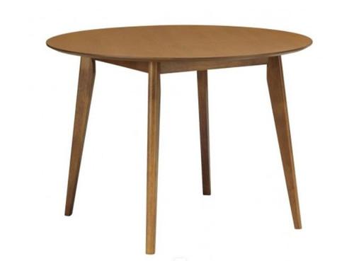 ARTHUR ROUND DINING TABLE - 1050(DIA) - COCOA