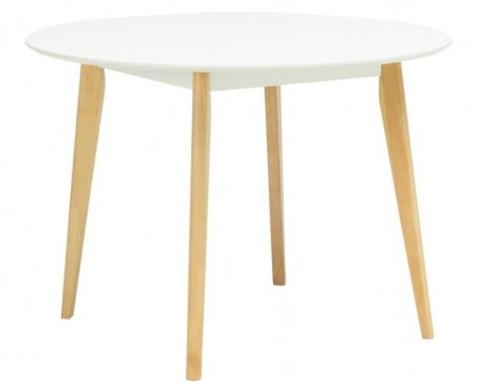 ARTHUR ROUND DINING TABLE - 1050(DIA) - WHITE