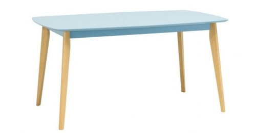 ARTHUR DINING TABLE - 1500(W) X 900(D) - DUST BLUE