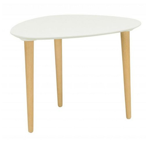 COREY MEDIUM OCCASIONAL  TABLE - WHITE