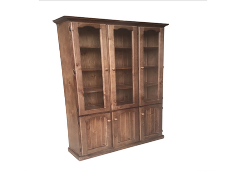 MUDGEE 6 DOOR LIBRARY UNIT - 2100(H) X 1200(W)  - ASSORTED COLOURS