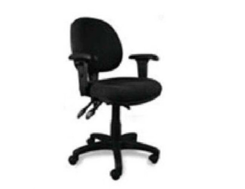 ERGO 3 LEVER 300 LOW BACK CLERICAL ARM CHAIR WITH GAS LIFT - ASSORTED COLOURS