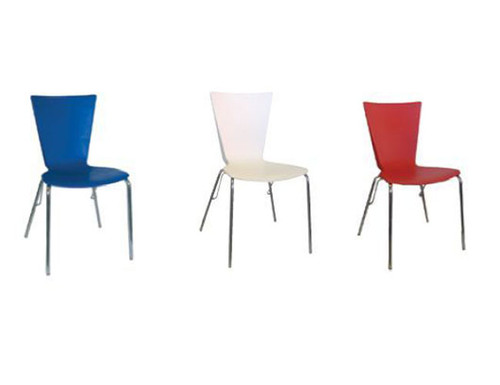 BOURKE DINING CHAIR - BLACK , BLUE , WHITE (RED - SOLD OUT)
