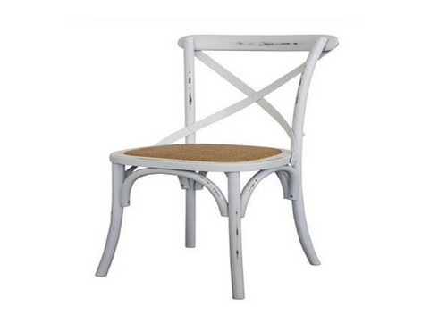 ORLEANS DINING CHAIR  -  WHITE