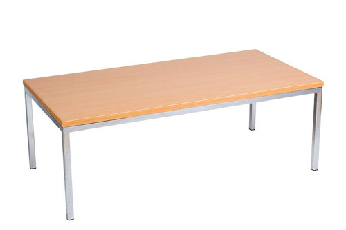 CUBANA 900(W) COFFEE TABLE WITH 25MM MELAMINE TOP - 400(H) X 900(W) X 600(D)