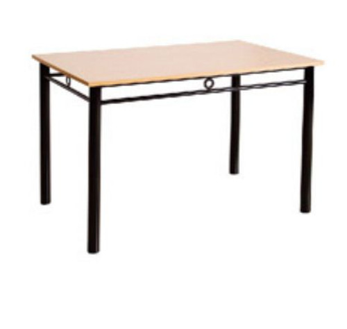 OPUS 2100(W) x 900(D) FIXED TOP DINING TABLE WITH 25MM MELAMINE TOP