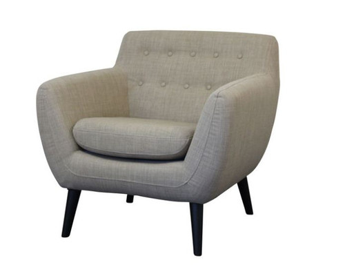 STAMFORD  UPHOLSTERED TUB CHAIR  - PUMICE
