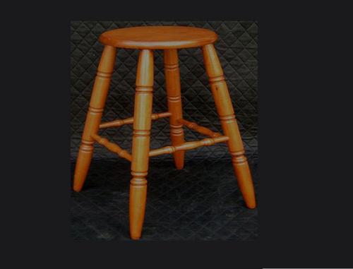 MORRIS BAR  STOOL - SEAT: 690(H) - ANTIQUE MAPLE