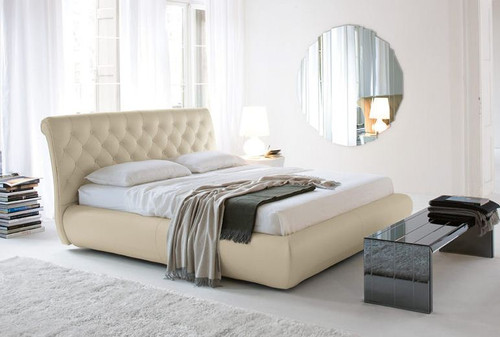KING  KERINTO  LEATHERETTE  BED (B023) - ASSORTED COLORS AVAILABLE