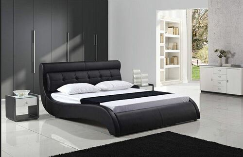KING EASTON LEATHERETTE  BED (B082) - ASSORTED COLORS AVAILABLE (SEE COLOR BOARD)