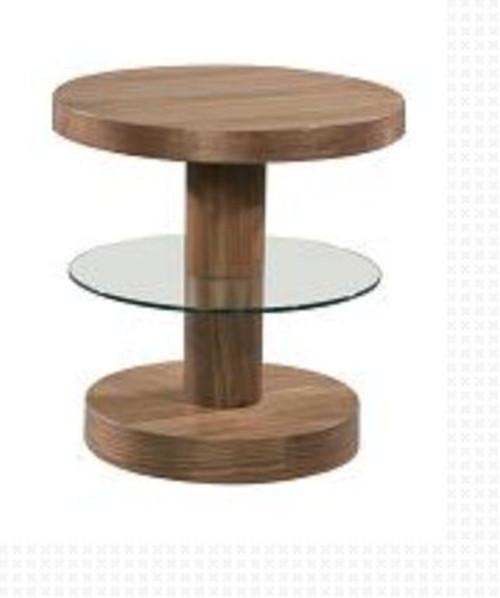 SWAN  (WD-106) LAMP TABLE -  WALNUT