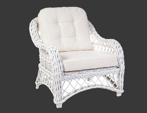 OLYMPIA  (DET762)  RATTAN CHAIR -  ASSORTED COLOURS