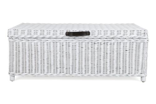 TRUNK STORAGE COFFEE TABLE 1160(L) x  600(W) - WHITE
