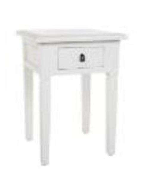 JAVA SIDE TABLE (DET925)  -  BROWN OR JASMINE