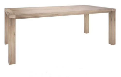 OYSTER BAY DINING TABLE ONLY (VOB-002) 2100(W) x  1000(D) - ASH