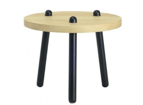 KIMI  HIGH COFFEE TABLE - NATURAL / BLACK
