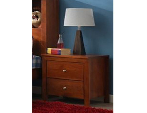 TYLER 2 DRAWERS BEDSIDE TABLE - ASSORTED COLOURS