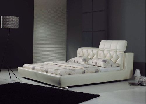 QUEEN WAYNORTH  LEATHERETTE  BED  (CD055) - ASSORTED COLORS AVAILABLE