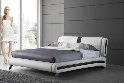 KING KELLEY  LEATHERETTE   BED  (CD065) -  ASSORTED COLORS AVAILABLE