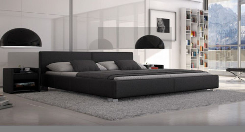 KING BRANDEE LEATHERETTE BED (CD069) - ASSORTED COLORS AVAILABLE