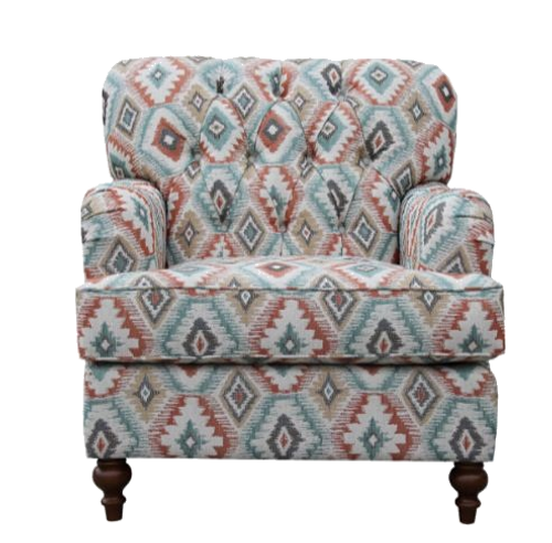 PARIS  ARM CHAIR  (MODEL - 6-12-15-18-9-4-1) AVAILABLE AS PICTURED OR PLAIN