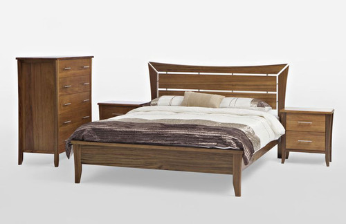 AVOCA QUEEN 4 PIECE  TALLBOY   BEDROOM SUITE - AS PICTURED