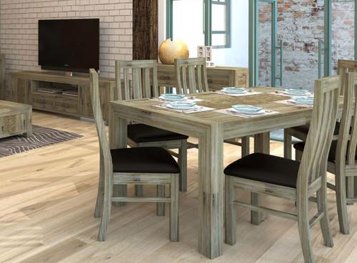 YARRA (180) (VYR-010) DINING TABLE 1800(W) x 1000(D) - MOCHA