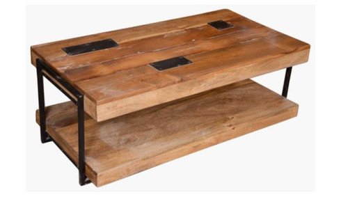 ECCLECTIC   COFFEE TABLE (VEC-010) - 450(H) X 1200(L) X 600(W)
