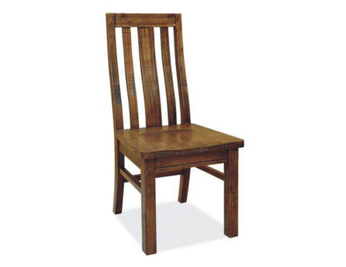 RADIUS (VTO-007) DINING CHAIR WITH WOODEN SEAT