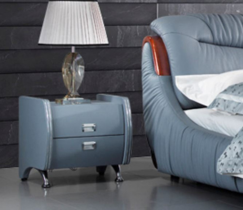 AUBREE  2 DRAWER BEDSIDE TABLE (#24)- ASSORTED COLOURS