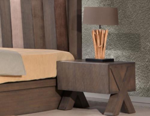 PARAGON 1 DRAWER BEDSIDE TABLE (22-9-15) - BELGIAN OAK